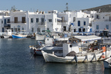 Naoussa Harbour, Paros, Cyclades, Greek Islands, Greece Photographic Print by Rolf Richardson