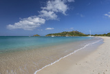 Deep Bay, a Beach on the Island of Antigua, Leeward Islands, West Indies Photographic Print by Roberto Moiola