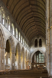 Dunblane Cathedral, Interior Looking East, Dunblane, Stirling, Scotland, United Kingdom Photographic Print by Nick Servian