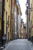 Street Scene in Gamla Stan, Stockholm, Sweden, Scandinavia, Europe Photographic Print by Yadid Levy