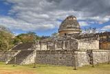 El Caracol (The Snail), Observatory, Chichen Itza, Yucatan, Mexico, North America Reproduction photographique par Richard Maschmeyer