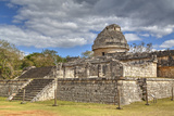 El Caracol (The Snail), Observatory, Chichen Itza, Yucatan, Mexico, North America Photographic Print by Richard Maschmeyer