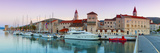 Trogir's Historic Stari Grad (Old Town) Defensive Walls and Harbour, Trogir, Dalmatia, Croatia Photographic Print by Doug Pearson