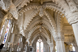 Vaulting in Rosslyn Chapel, Roslin, Midlothian, Scotland, United Kingdom Photographic Print by Nick Servian