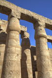 Columns in the Court of Ramses Ii, Luxor Temple, Luxor, Thebes, Egypt, North Africa, Africa Photographic Print by Richard Maschmeyer