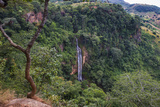 Manchewe Falls Near Livingstonia, Malawi, Africa Photographic Print by Michael Runkel