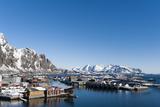 Svolvaer, Lofoten Islands, Nordland, Arctic, Norway, Scandinavia Lámina fotográfica por Sergio Pitamitz