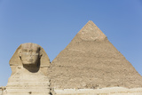 Sphinx and Pyramid of Chephren, the Giza Pyramids, Giza, Egypt, North Africa, Africa Photographic Print by Richard Maschmeyer
