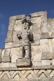 Atlantes Figure, Palace of Masks, Kabah Archaelological Site, Yucatan, Mexico, North America Photographic Print by Richard Maschmeyer