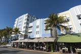 Ocean Drive, South Beach, Miami Beach, Florida, United States of America, North America Photographic Print by Sergio Pitamitz
