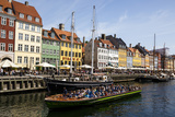 Nyhavn, Copenhagen, Denmark, Scandinavia, Europe Photographic Print by Yadid Levy