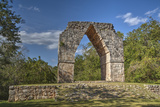 The Arch, Kabah Archaeological Site, Yucatan, Mexico, North America Papier Photo par Richard Maschmeyer