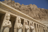 Statues of Osiris, Deir-El-Bahri (Hatshepsut's Temple), West Bank Photographic Print by Richard Maschmeyer