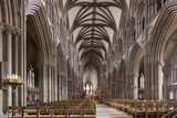 Nave Looking East, Lichfield Cathedral, Staffordshire, England, United Kingdom Photographic Print by Nick Servian