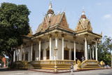 Wat Krom (Intra Ngean Pagoda), Sihanoukville, Cambodia, Indochina, Southeast Asia, Asia Fotografisk trykk av Rolf Richardson
