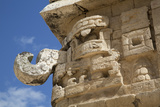 Chac Rain God Mask, the Church (La Iglesia), Chichen Itza, Yucatan, Mexico, North America Photographic Print by Richard Maschmeyer