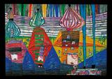 Friedensreich Hundertwasser - Resurrection Of Arhitecture Obrazy