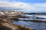 St. Monans Fishing Village and Harbour from the Fife Coast Path, Fife, Scotland, UK Photographic Print by Mark Sunderland