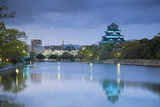 Hiroshima Castle at Dusk, Hiroshima, Hiroshima Prefecture, Japan Photographic Print by Ian Trower