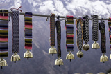 Yak Bells on Sale in a Small Market Town in the Sagarmatha National Park, Nepal, Asia Photographic Print by John Woodworth