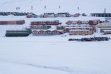 View of Longyearbyen, Spitsbergen, Svalbard, Arctic Circle, Norway, Scandinavia Photographic Print by Stephen Studd