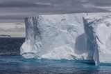Tabular Iceberg in the Gerlache Strait, Antarctica, Polar Regions Photographic Print by Michael Nolan
