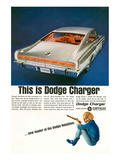 Charger-Dodge Rebellion Leader Print