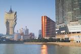 Grand Lisboa and Wynn Hotel and Casino, Macau, China, Asia Photographic Print by Ian Trower
