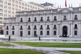 Presidential Palace, La Moneda, Santiago, Chile Photographic Print by M & G Therin-Weise