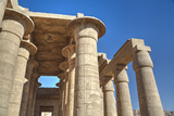 Column Reliefs, Hypostyle Hall, the Ramesseum (Mortuary Temple of Ramese Ii) Photographic Print by Richard Maschmeyer