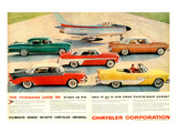 Chrysler 1956 Forward Look Poster