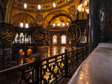 Interior of Hagia Sofia (Aya Sofya), Sultanahmet, Istanbul, Turkey Photographic Print by Ben Pipe