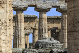 Temple of Hera (The Basilica) 530 Bc, Oldest Greek Temple at Paestum, Campania, Italy Photographic Print by Eleanor Scriven