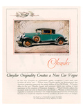 Chrysler Originality - New 75 Posters