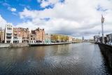 River Liffey Flowing Through Dublin, Republic of Ireland Photographic Print by Michael Runkel