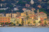 Santa Margherita Ligure Seen from the Harbour, Genova (Genoa), Liguria, Italy, Europe Photographic Print by Carlo Morucchio