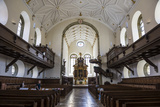 Interior of the Church of the Holy Trinity, Regensburg, Bavaria, Germany Photographic Print by Michael Runkel