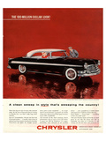 Chrysler- Clean Sweep in Style Posters