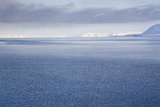 View from Longyearbyen to Adventfjorden Fjord Photographic Print by Stephen Studd