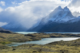 Cloud Formations over Lago Nordenskjold, Torres Del Paine National Park, Chilean Patagonia, Chile Photographic Print by G & M Therin-Weise