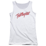 Juniors Tank Top: Ted Nugent- Clean Logo Womens Tank Tops