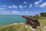 A Cannon Dating from the 17th Century, Fort James, Antigua, Leeward Islands, West Indies Photographic Print by Roberto Moiola