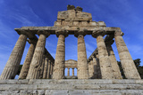 Temple of Athena (Temple of Ceres), Paestum, Greek Ruins, Campania, Italy Photographic Print by Eleanor Scriven