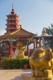 Ten Thousand Buddhas Monastery, Shatin, New Territories, Hong Kong, China, Asia Photographic Print by Ian Trower