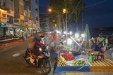 Night Market, Ben Tre, Mekong Delta, Vietnam, Indochina, Southeast Asia, Asia Photographic Print by Ian Trower