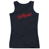 Juniors Tank Top: Ted Nugent- Distress Logo T-shirts