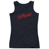 Juniors Tank Top: Ted Nugent- Distress Logo T-shirts
