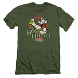 Hagar The Horrible- Beer Hunter (Slim Fit) T-shirts