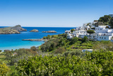 The White Houses of the Town of Lindos, Rhodes, Dodecanese Islands, Greek Islands, Greece, Europe Photographic Print by Michael Runkel