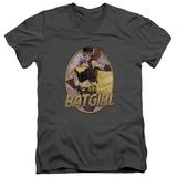 JLA- Batgirl Bombshell V-Neck V-Necks